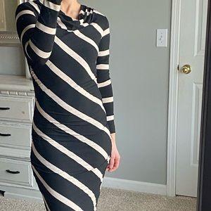 Renee C long-sleeved dress